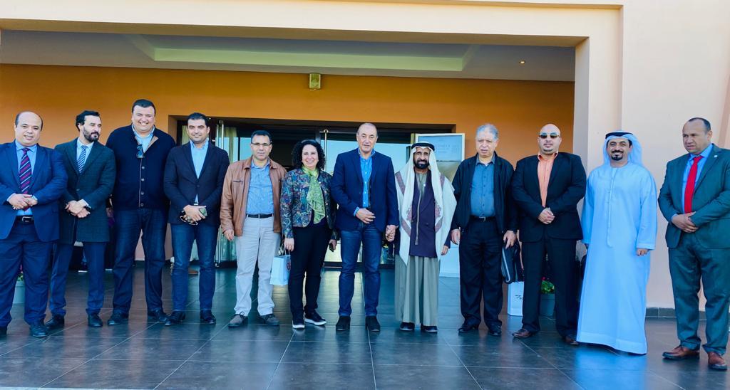 محافظ بنسليمان في المغرب يقيم مأدبة غداء على شرف مسلم بن حم