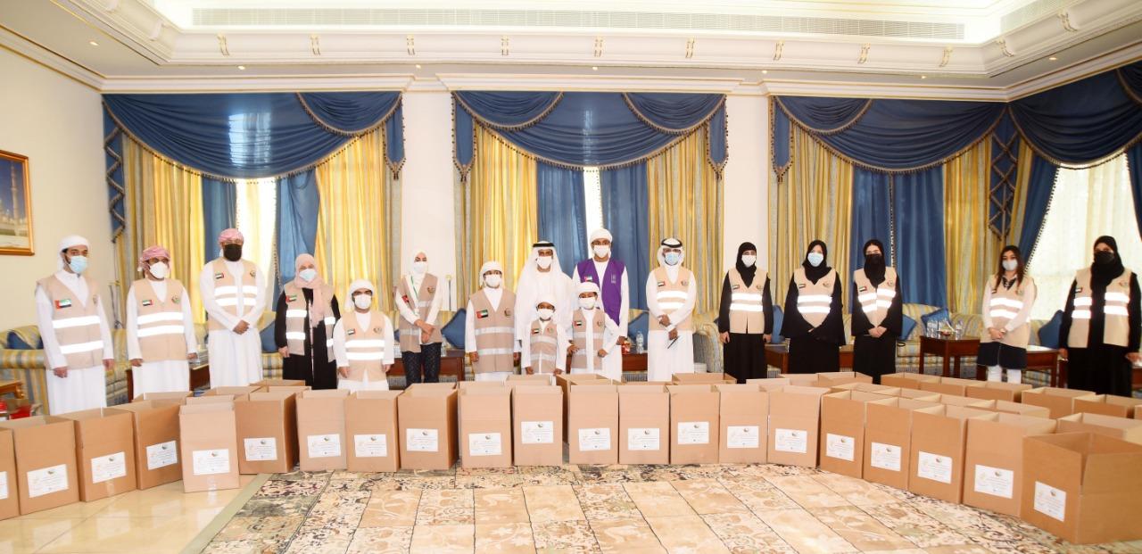 """فريق عونك يا وطن يطلق حملة """"جود"""" لتوزيع سلال رمضان"""