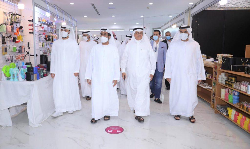 مسلم بن حم يفتتح خيمة زمان للتسوق دبي